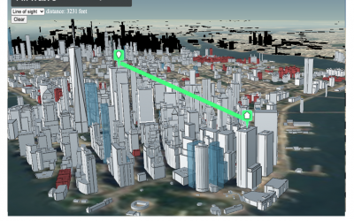 New 3D GIS Features
